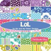 LOL Charm Pack<BR>Me and My Sister Designs for Moda Fabrics