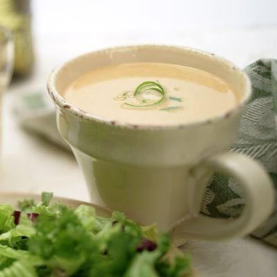 ... and Gorgonzola Soup (Easy; 4 servings) #pumpkin #gorgonzola #soup
