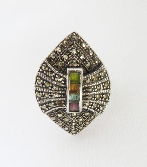 Vintage Marcasite Rings 108