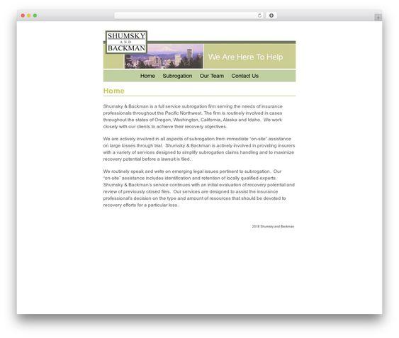 The Card Best Wordpress Theme Shumsky Backman Com Best Wordpress Themes Wordpress Theme Cards