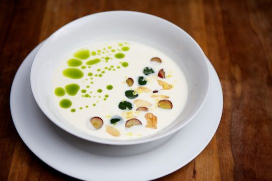 white gazpacho soup | Food and Beverages | Pinterest | Gazpacho ...