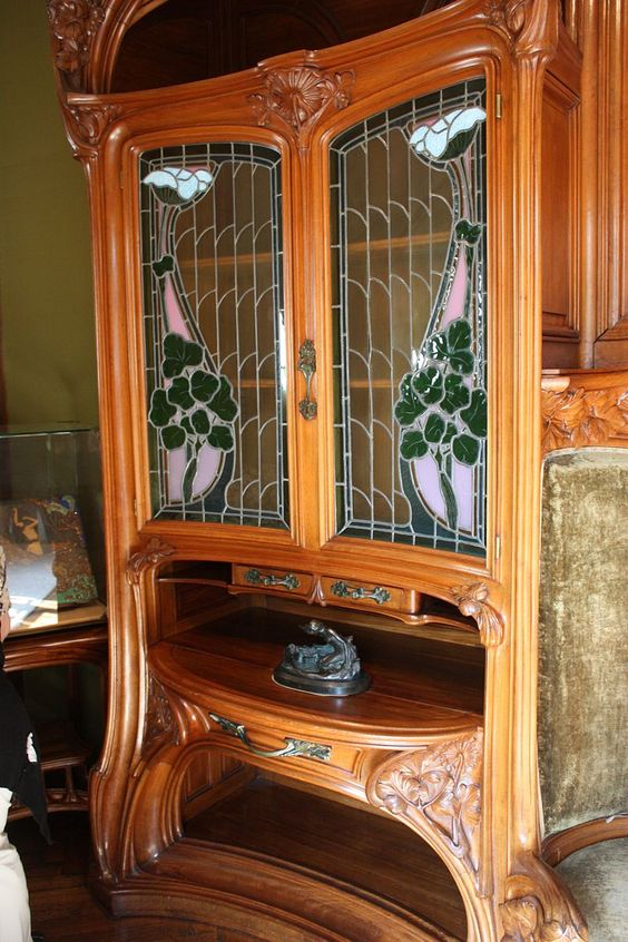 villa majorelle meuble ecole de nancy art nouveau. Black Bedroom Furniture Sets. Home Design Ideas