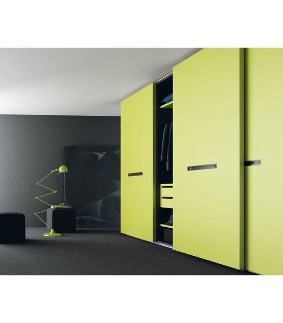 Armarios fabricados a medida de puertas correderas neo amplia gama de colores sistema con - Sistemas puertas correderas armarios ...