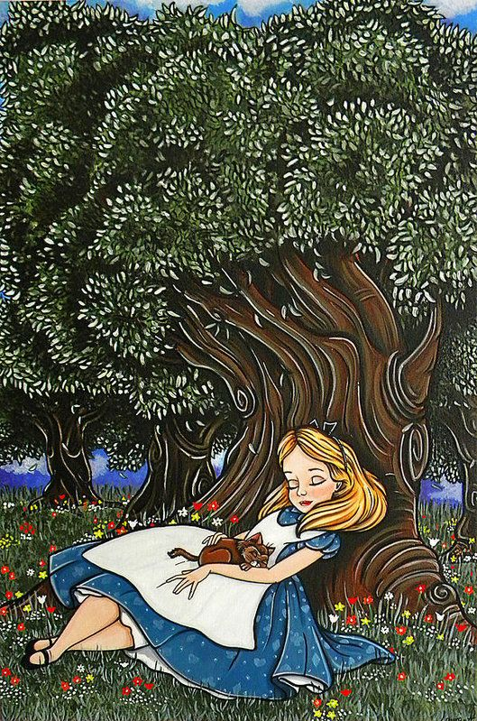 Magic Tree of Life Dictionary Art Print Book Picture Fairy Tale Picture Poster