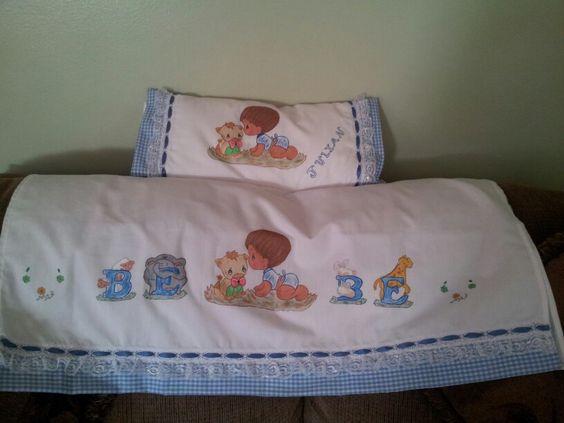 Sabanitas personalisadas para bebes.