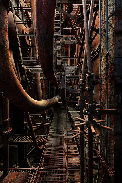 rust in peace      an abandoned power station in belgium  Mobileohm