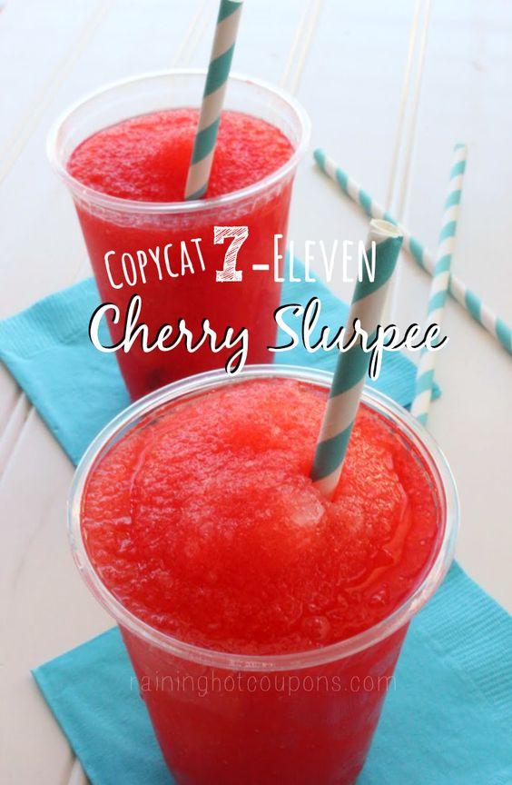 Copycat 7-Eleven Cherry Slurpee - Raining Hot Coupons