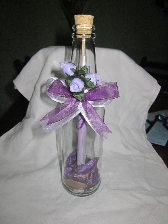 Una variaci n para evento de 15 o 16 a os con decoraci n - Decoracion de botellas ...