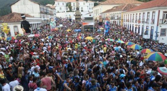 carnaval de ouro preto uma das melhores festas de carnavais do brasil: