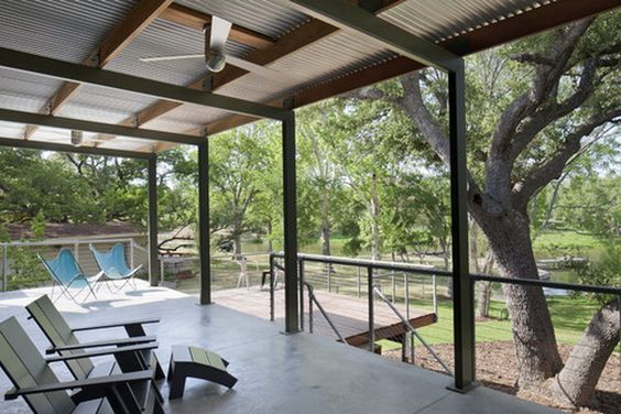 Covered Patios Search And Metal Roof On Pinterest
