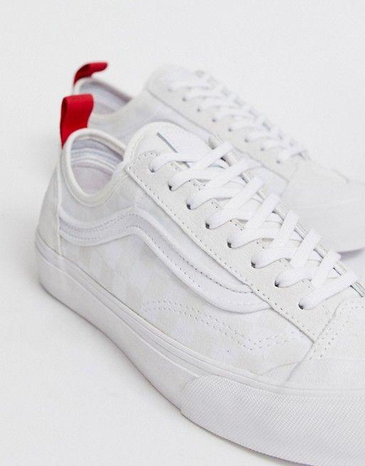 Vans Leila Rose decon Style 36 white sneakers | White