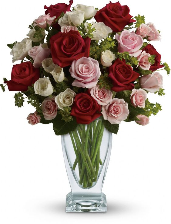 Cupid's Creation with Red Roses by Teleflora: