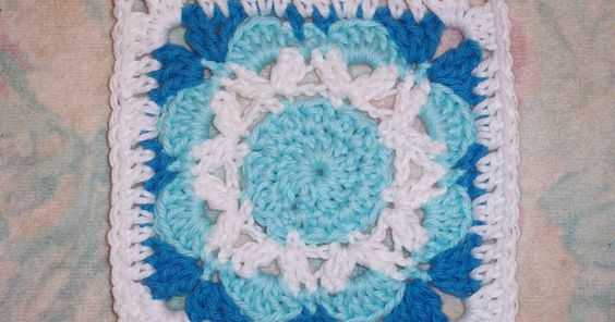 SmoothFox Crochet and Knit: SmoothFox's Jubilee Square 6x6 - Free Pattern