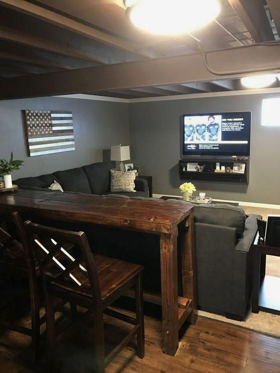 Here Are The List Of Awesome Basement Home Theater Design Ideas With Great Layouts And Setup Make Sure You Ch Basement Decor Cozy Basement Basement Remodeling