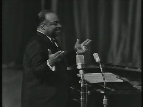 Count Basie and his whispering piano, in a band with some of the best jazz musicians of his time. Live in '62