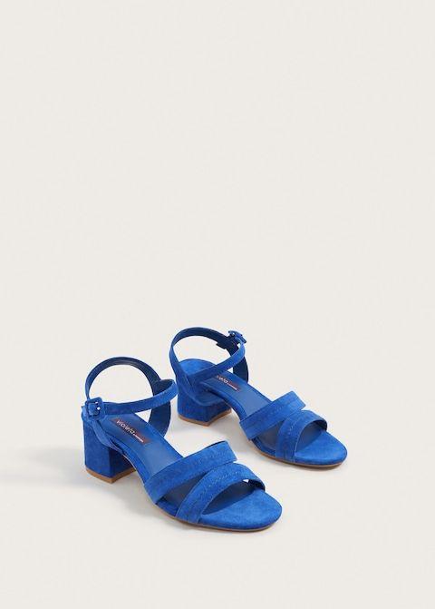 Skorzane Sandaly Z Paskow Duze Rozmiary Violeta By Mango Polska Strap Sandals Leather Strap Sandals Sandals