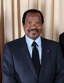 Paul Biya is a Cameroonian politician who has been the President of Cameroon since 6 November 1982.