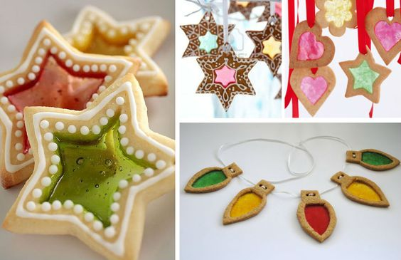 How to Make Stained Glass Cookies: