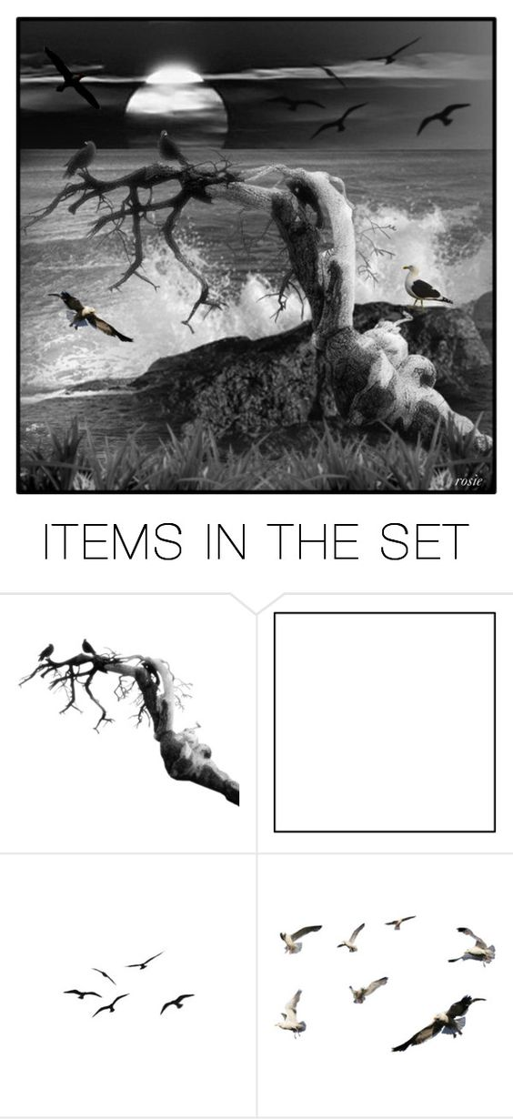 """""""sea"""" by mamierosie ❤ liked on Polyvore featuring art"""