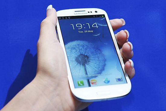 Smartphone Galaxy leva Samsung a lucro recorde no trimestre