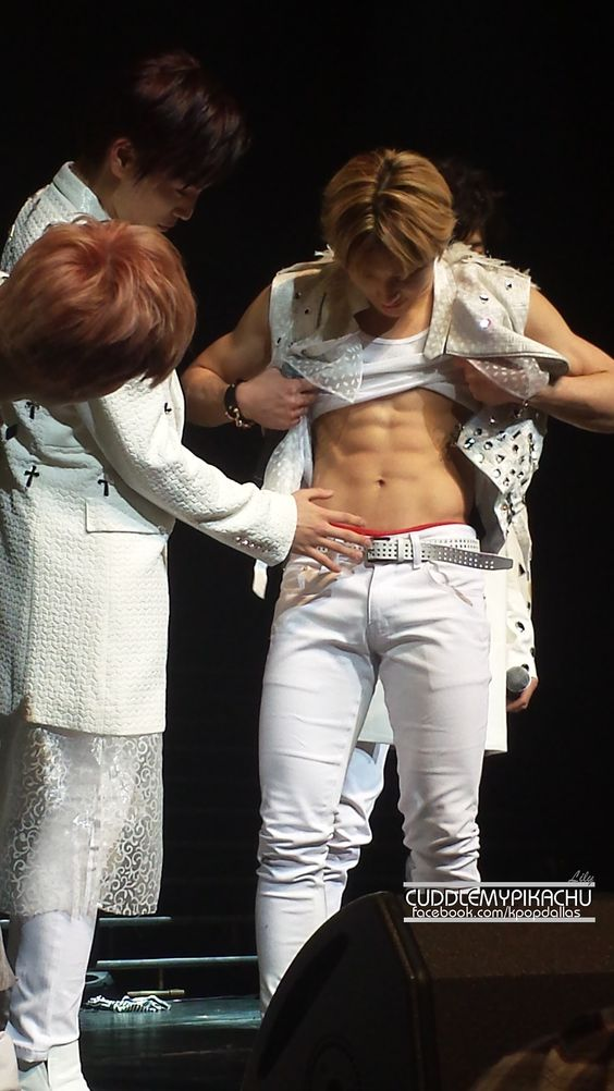 Himchan, Cheetos and Abs on Pinterest