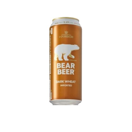 Bia Gấu Bear Beer Dark Wheat 5,4% - Lon 500ml