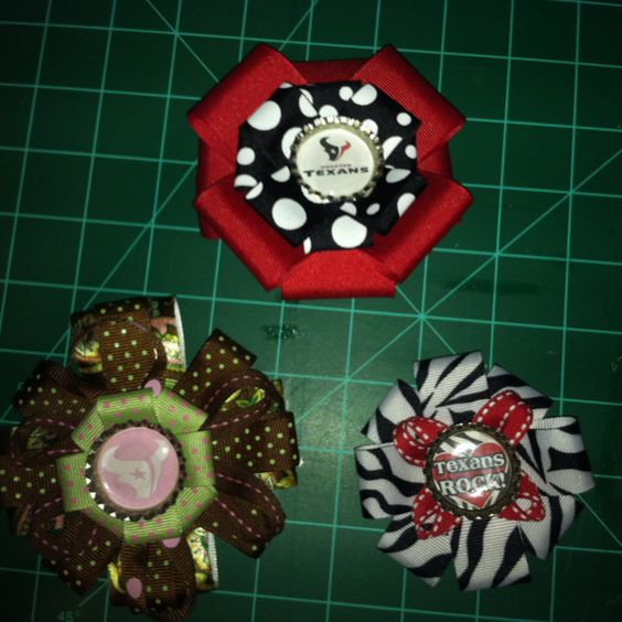 Hair bows I made as a fundraiser for our adoption.
