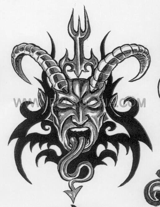 Disenos De Demonios Y Diablos Belagoria La Web De Los Tatuajes Monstruos Dragones Lobo Feroz