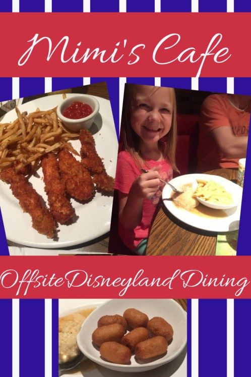 Family friendly dining at Mim's Cafe.