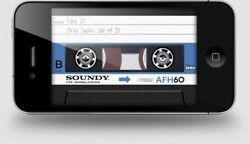 AirCassette, A Cassette Player Music App for iPhone