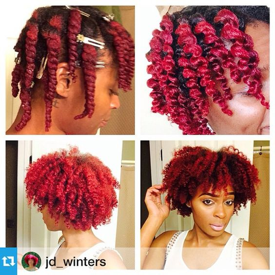 #Repost from @jd_winters ---❤️❤️ Here's a natural hair tip newly naturals, when I want a fluffy two day looking twist out...1⃣ I Twist my hair using @trulyyoucurls Super Soft Butter Blend, then add hair clips to keep my hair down. 2⃣ I unravel and begin to separate my hair till I get my desired look (forgot to take a pic of fully separating) 3⃣ I hop in the shower with no cap, just me and my hair and let the steam do it's magic for about 10-15 min (Not extremely hot, just enough to get a ...