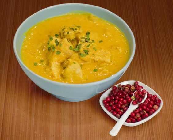 coconut curry chicken- Yummo1