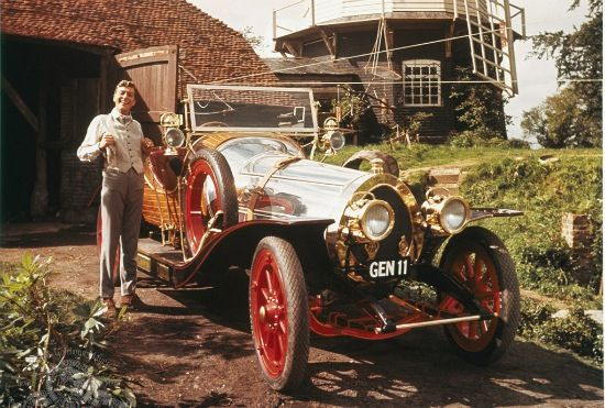 Dick Van Dyke and Chitty Chitty Bang Bang