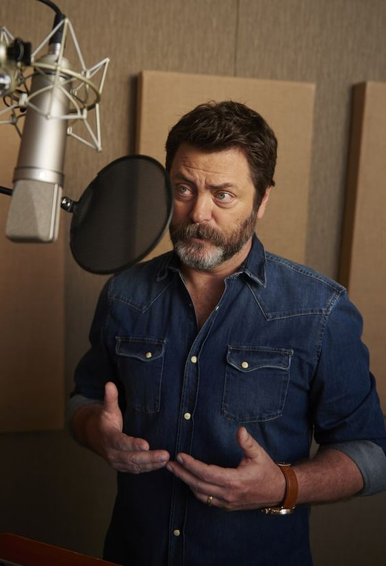 An exclusive audio excerpt of Nick Offerman reading Mark Twain's classic, 'The…