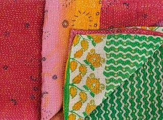 Antique sari at Jayson Home & Garden