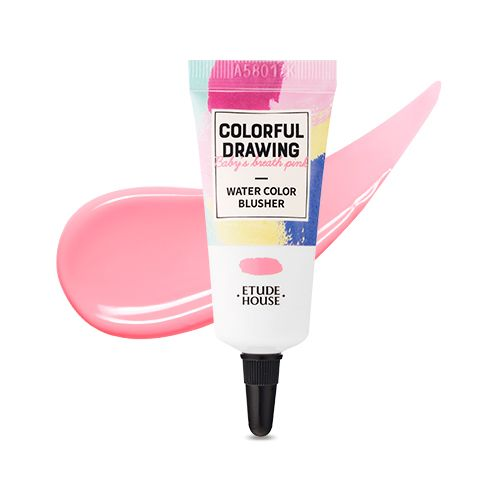 Etude House Watercolor Blusher Colorful Drawings Blusher Etude