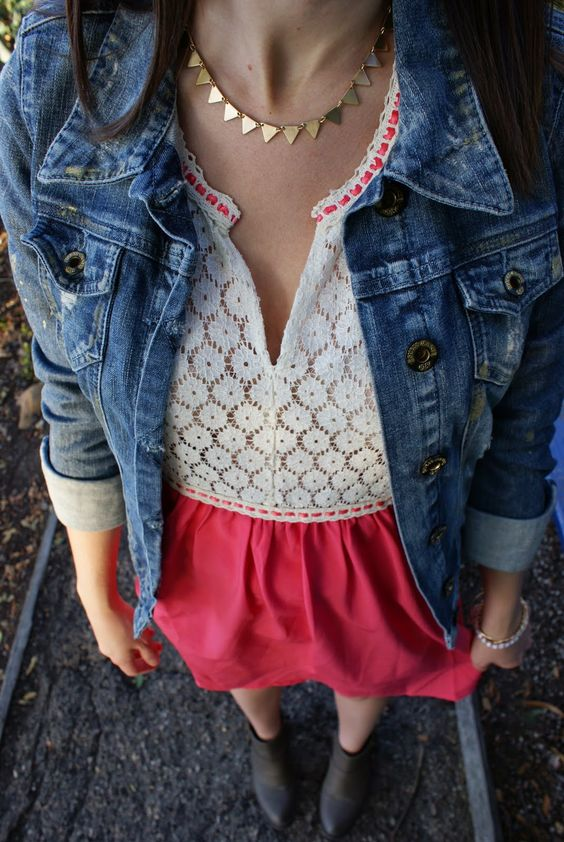 MessyBeautifulLife: How to Elevate the Denim Jacket
