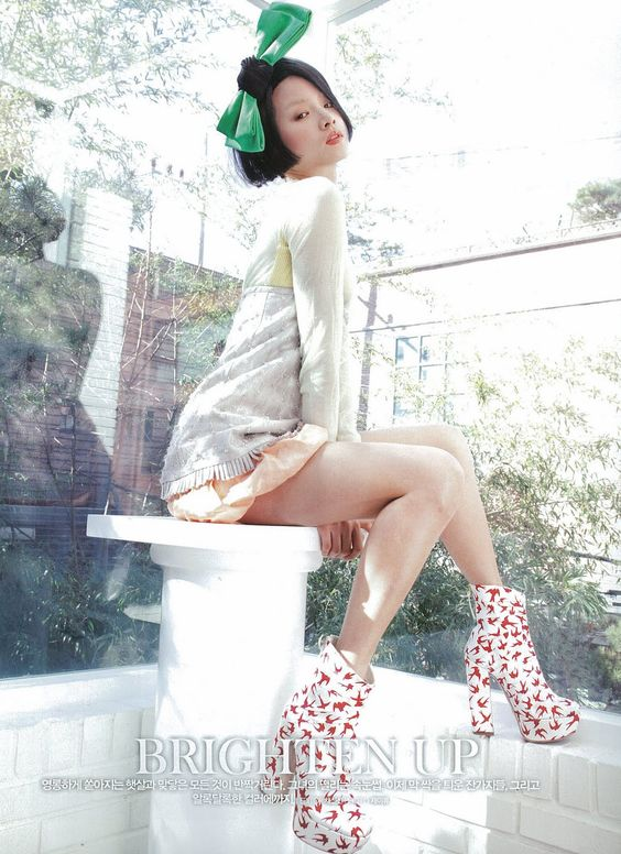 Lee Ji Yeon for Elle March 2010