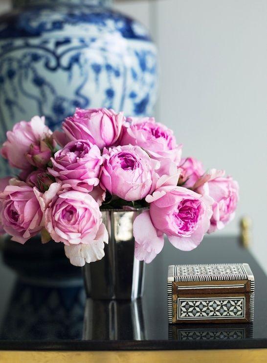 A delicadeza das flores...
