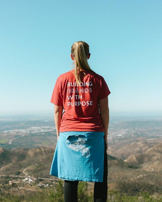 Purpose driven in and outside of the office. Re-post by Hold With Hope
