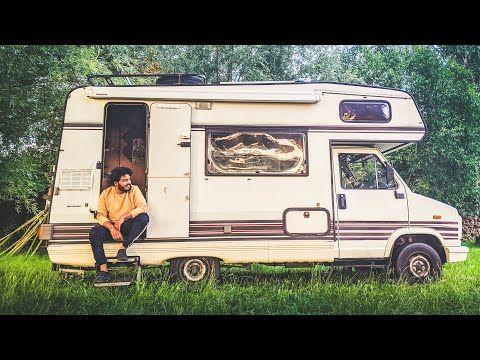 جولة في بيتنا الجديد كراڤان كلاسيك قبل التجديد Vintage Fiat Ducato 1988 Rv Tour Youtube Fiat Ducato Fiat Recreational Vehicles