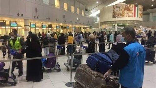 1830 عالقا مصريا يغادرون الكويت عبر 12 رحلة News