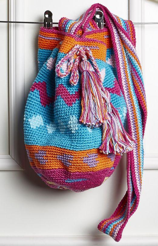 Receitas Círculo - Wayuu Bag Rosa: