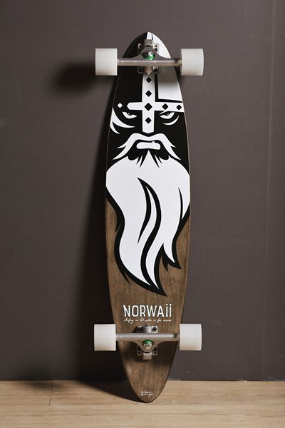 Thousand Mahalos Longboard by Norwaii