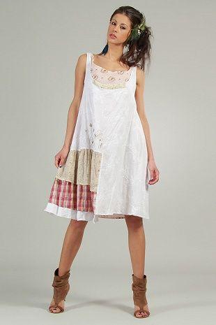 Белое летнее платье Ian Mosh, категория летние
