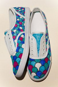 Lovely Painted Shoes