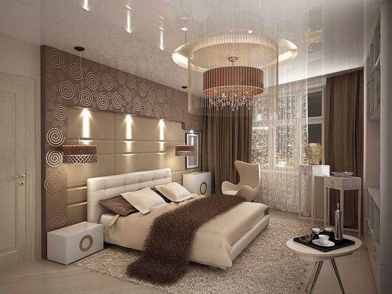 تصاميم عصرية لغرف نوم راقية وفخمة 2019 Fancy Master Bedroom Design Ideas Luxurious Bedrooms Modern Bedroom Bedroom Interior