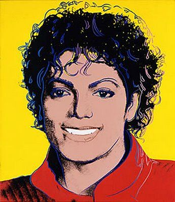 Andy Warhol- Michael (1984)- National Portrait Gallery, Smithsonian Institute: