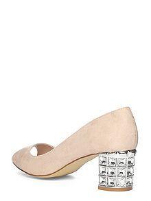 Embellished Heel Shoes