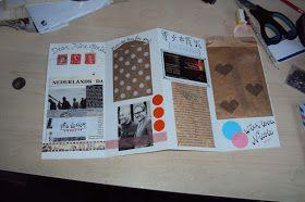 Coco Gold - Blog over low-budget beauty, fashion en food: DIY: Letter-envelope
